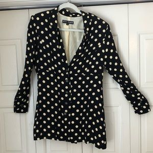 Betsey Johnson polka dot jacket